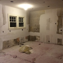 Drywall and mud work