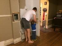 He finally gets to help