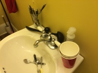 Our current sink.