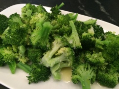 Broccoli - sprinkled with Maldons