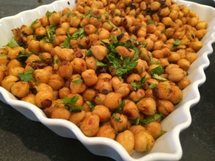 Chickpea Salad - nice to have around for a snack