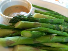 Dressed Asparagus