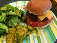 Classic burger with Kick Ass Ketchup