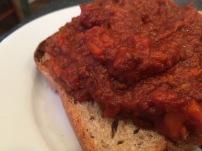 Sloppy Joes - on whole grain bread