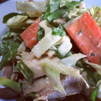 Chicken Salad with Thai Flavors
