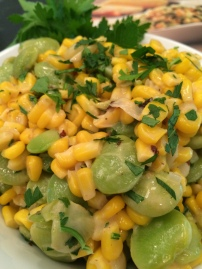 Corn and Lima Beans