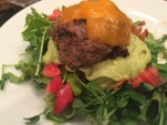 Mini Cheeseburger with Avocado dressing